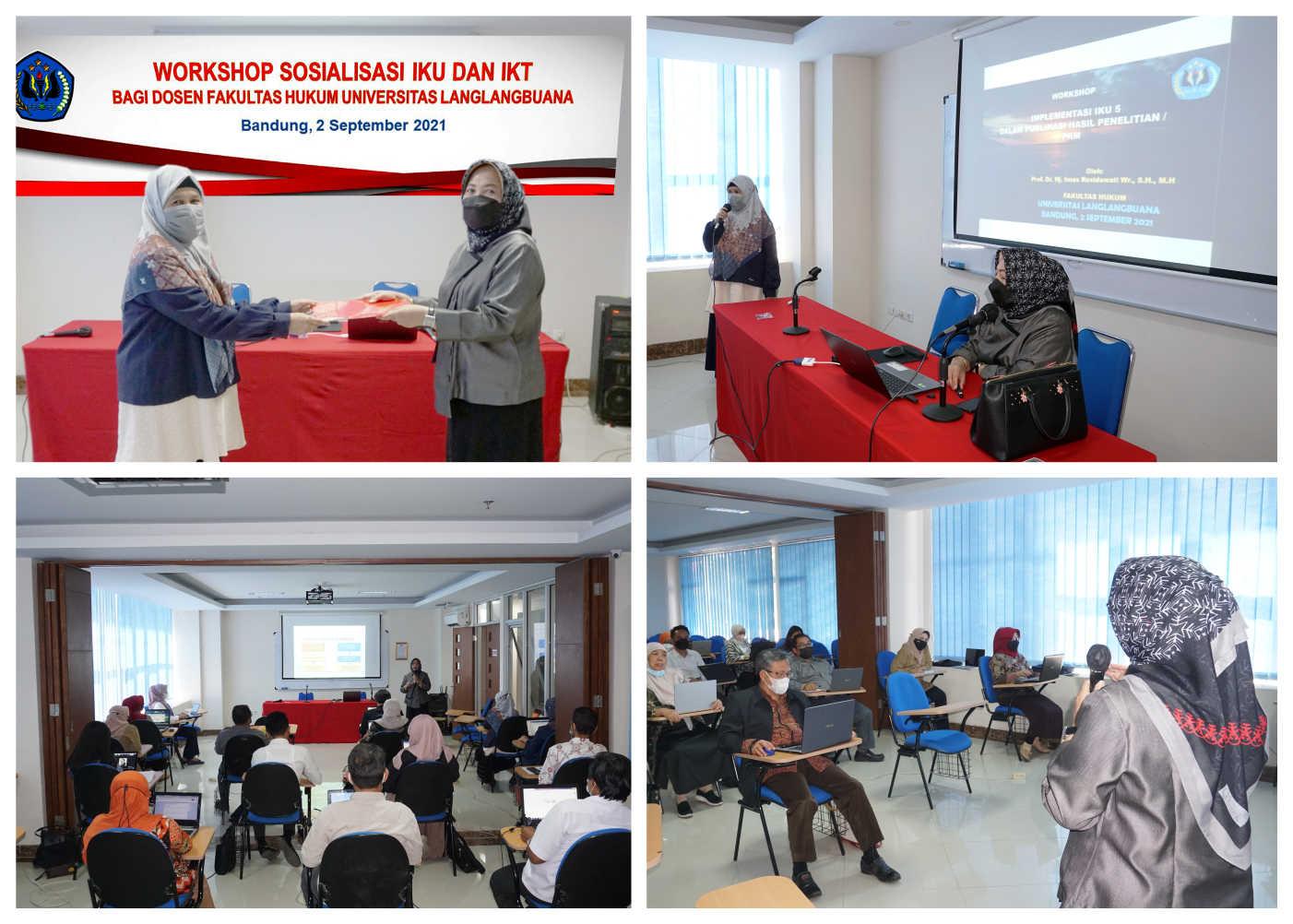 Workshop IKU dan IKT bagi Dosen Fakultas Hukum Unla